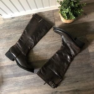 Bikkembergs | Brown Leather Boots